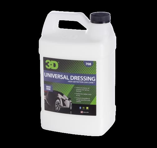 Универсальная защита шин и арок с малым содержания силикона 3D (3,785 л) - Universal Dressing 708G01