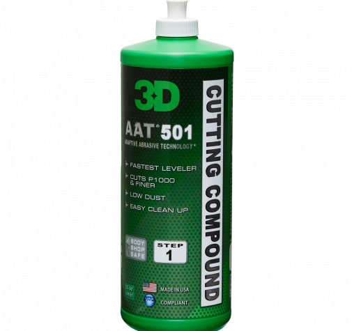Полировальная паста с микро-абразивами 3D (0,95 л) - AAT Cutting Compound 501OZ32