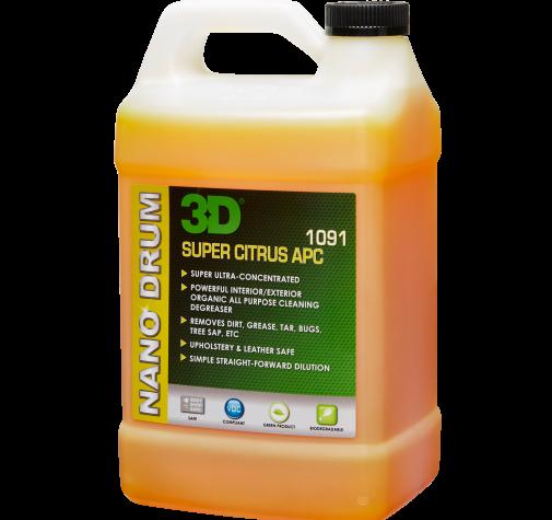 Универсальный органический очиститель 1,893 л - 3D Super Citrus APC