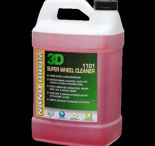 Чистящее средство для колес концентрат 1,786 л - 3D SUPER WHEEL CLEANER 1101OZ64