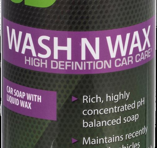 РH-сбалансированный шампунь с воском 2 в 1 для кузова 0,47 л - 3D 5 Wash N Wax