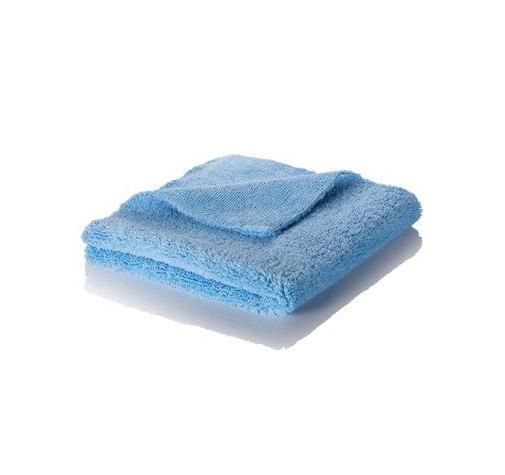Микрофибра голубая короткий/длинный ворс 420 гр/м (40х40см)