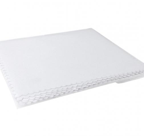 Салфетка для аппликатора Zvizzer Applicator cloth white 15x10