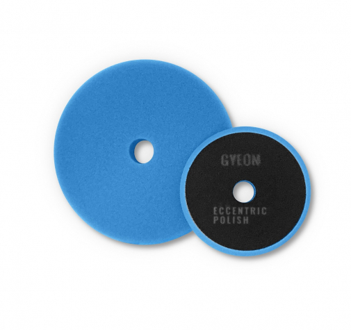 Полировальный круг Мягкий GYEON ECCENTRIC POLISH Поролоновый Синий комплект (80мм х2)