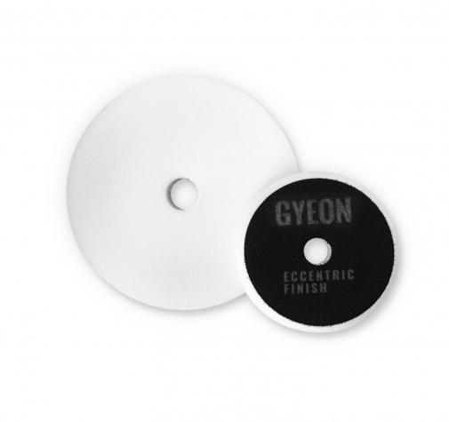 Полировальный круг Очень мягкий GYEON ECCENTRIC FINISH Поролоновый Белый комплект (80мм х2)