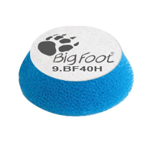 Диск полировальный поролоновый жёсткий голубой RUPES 34/40мм BF40H