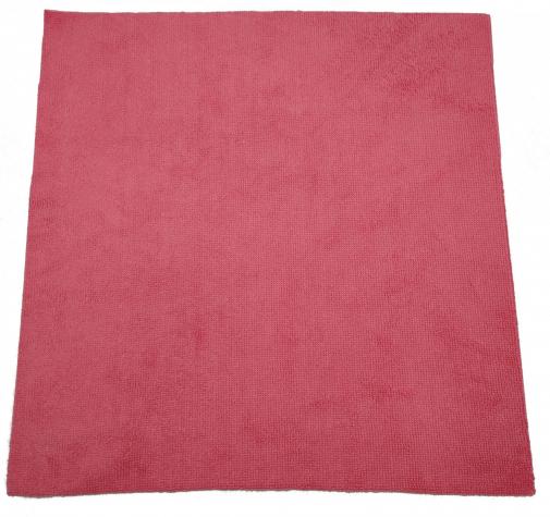 Микрофибра красная с коротким ворсом 220г/м2 38смх38см