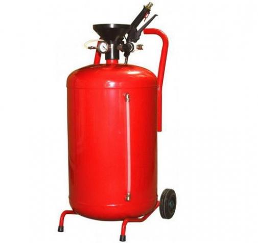 Пеногенератор металлический красный 50л TOR