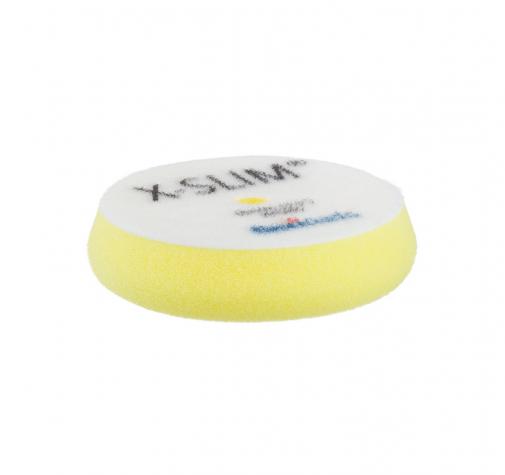 90 мм X-SLIM 18 мм ЖЕЛТЫЙ мягкий антиголограммный полировальный круг