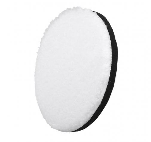 160 мм БЕЛЫЙ микрофибровый диск для финишной полировки