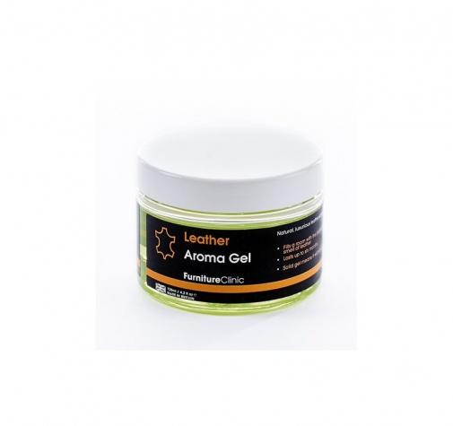 Гелевый ароматизатор с запахом элитной кожи Leather Aroma Gel LeTech