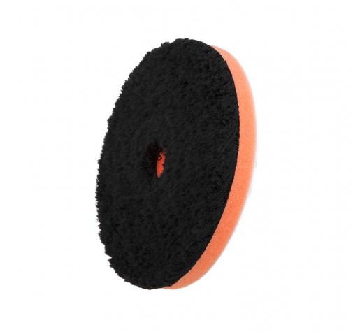 125 мм ЧЕРНЫЙ  режущий (1-Step) микрофибровый диск с центральным отверстием