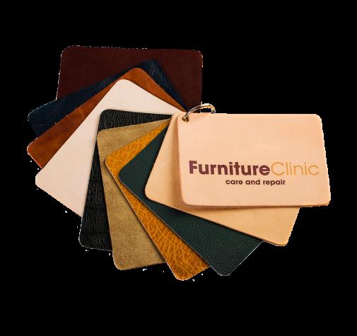 Образцы видов кожи (Leather Types Swatch Booklet)