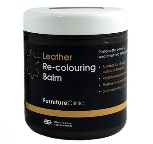 Бальзам для восстановления цвета кожи (Leather Re-Colouring Balm) Black (черный)