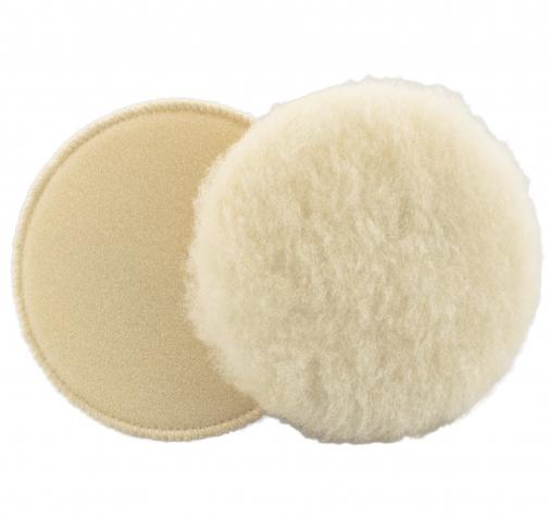 150 мм меховой полировальный круг Wool Bonnet  на липучке (Velcro)