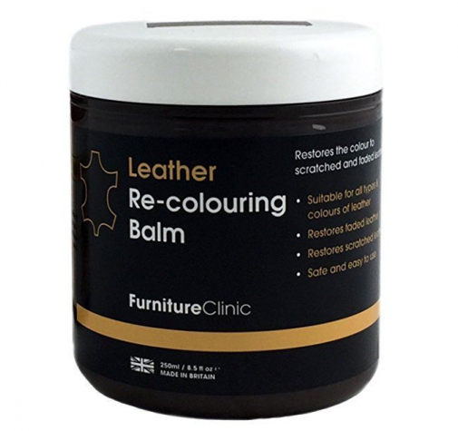 Бальзам для восстановления цвета кожи Leather Re-Colouring Balm Med Brown светло-коричневый 4LB250ML