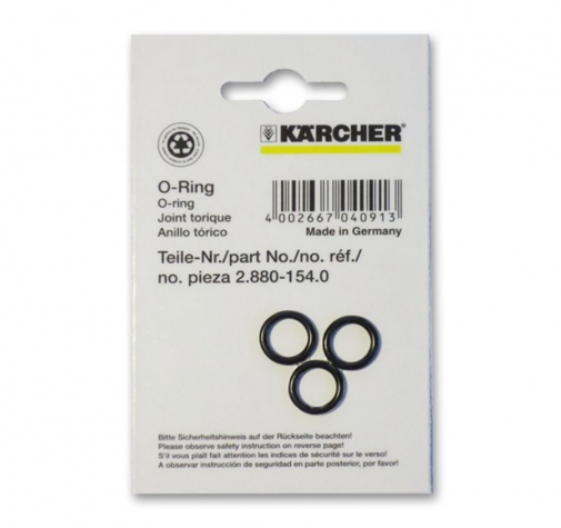 Кольца круглого сечения 10х2 (3 шт) Karcher