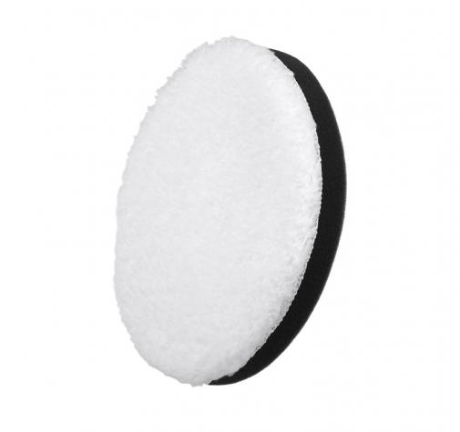 130 мм БЕЛЫЙ микрофибровый диск для финишной полировки