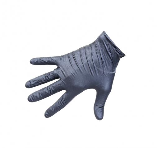Roxelpro перчатки одноразовые нитриловые чёрные roxONE размер ХXL, 90 шт