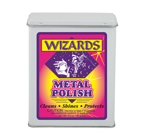 Вата для очистки металлов metal polish Wizard's 11011