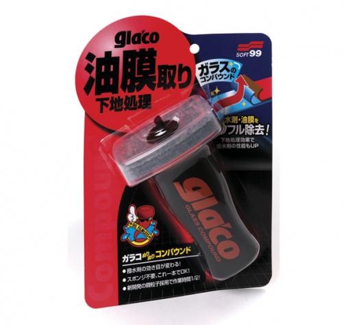 Очиститель для стекол Glaco Compound Soft99 100мл 04101