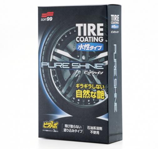 Покрытие для шин Pure Shine Soft99 100мл 02079
