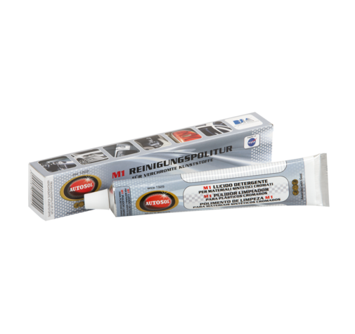 Паста М1 для полировки хрома и хром-пластика Autosol 75мл 01001910