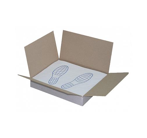 Бумажные одноразовые коврики ДВУХСЛОЙНЫЕ 405х500мм 500шт