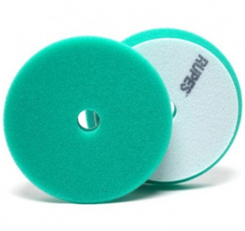 Полировальный поролоновый диск средней жетскости зеленый 150/180 мм RUPES