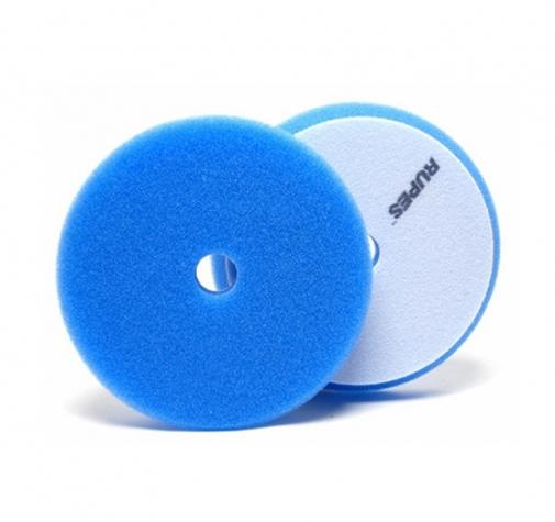 Полировальный поролоновый диск жесткий синий 150/180 мм RUPES