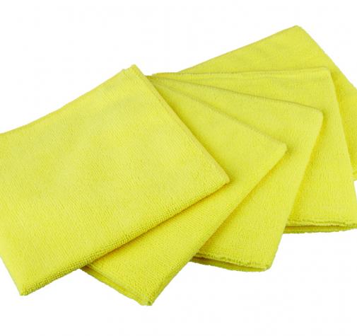 Полотенце микрофибровое желтое 40x40cm  ZviZZer Microfiber Cloth yellow