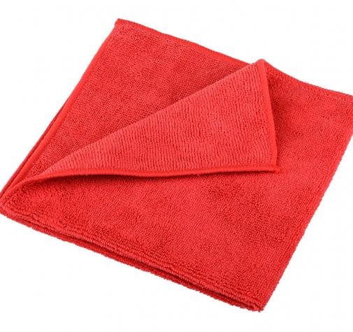 Полотенце микрофибровое красное 40x40cm ZviZZer Microfiber Cloth red