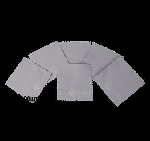 Салфетки для нанесения защитных составов 10*10 см серые уп-ка 100 шт.