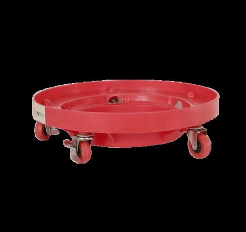 Подставка под ведро 3 диаметра , красного цвета