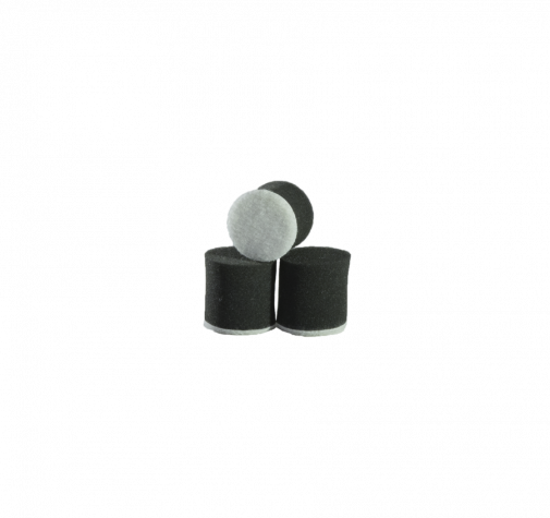 Круг для полировки - поролон 30*30 чёрный цвет