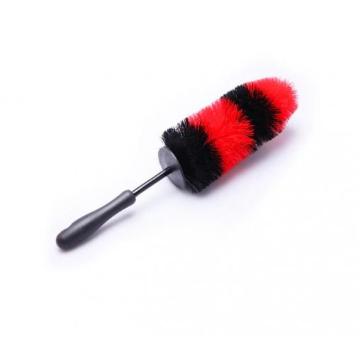 Ершик для глубокого очищения поверхностей дисков красно-черный 45х10см