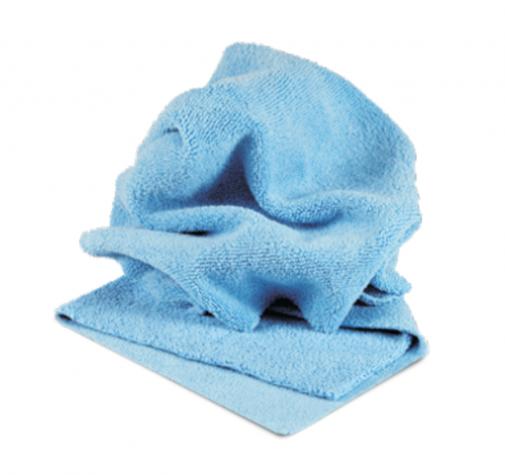 Микрофибровая салфетка голубая PROFI-MICROFASERTUCH BLAU Autech 40х40см 400гр/м2 Au-241