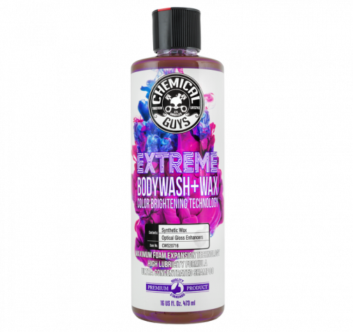 Extreme Body Wash & Wax with Color Brightening Technology Chemical Guys 473 мл CWS_207_16