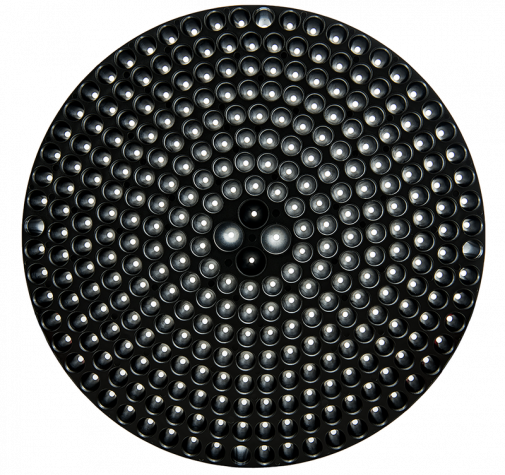 Пластиковая решетка в ведро черная